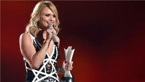 Miranda Lambert thống trị giải âm nhạc đồng quê Mỹ