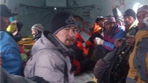Động đất tại Nepal: Trực thăng giải cứu 210 người trên đỉnh Everest