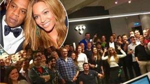Beyonce - Jay Z bị chỉ trích vì thuê toàn nhân viên da trắng