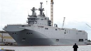 Công ty quốc phòng Pháp muốn bán cho Nga công cụ đóng tàu Mistral
