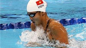 Ánh Viên xếp 15/16 bán kết vòng loại 200m hỗn hợp cá nhân nữ