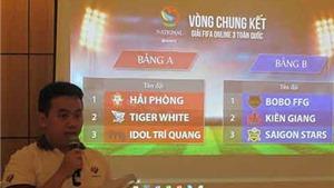 Bốc thăm vòng chung kết toàn quốc  FIFA Online 3: Hứa hẹn những ngày tranh tài hấp dẫn