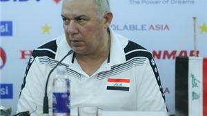 HLV trưởng đội tuyển Iraq Yahya Alwan: 'Mục tiêu của chúng tôi là 3 điểm'