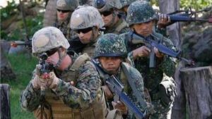 Philippines, Mỹ diễn tập giải cứu trên đảo bị địch chiếm đóng