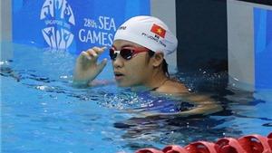 Phương Trâm phá kỷ lục quốc gia 50m bơi bướm của Ánh Viên