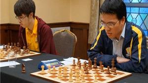 Quang Liêm bị chia điểm ở ván 7 giải cờ vua Spice Cup 2015