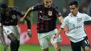 Vòng 12 Serie A: Milan thoát thua trên sân nhà nhờ thủ môn 16 tuổi