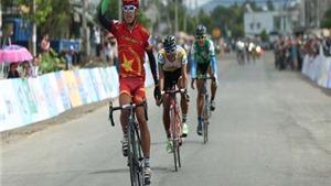 Trần Nguyễn Duy Nhân lần đầu thắng chặng giải xe đạp Nam Kỳ khởi nghĩa 2015