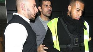 Diego Costa, Ramires và Kenedy bị bắt gặp rời hộp đêm lúc rạng sáng