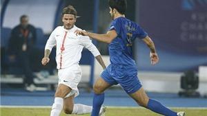 Đội các ngôi sao của Beckham, Carlos, Figo thua 2-4 ở Kuwait