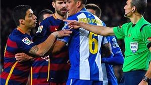 Thêm một 'vết chàm' nữa trong sự nghiệp của Luis Suarez