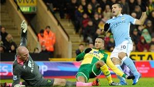 Norwich 0-3 Man City: Thắng dễ dàng, Man City bước tiếp vào vòng sau