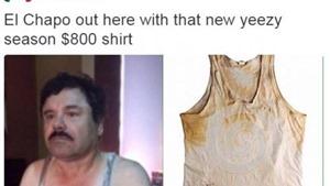 Cư dân mạng sốt với... chiếc áo ba lỗ của trùm ma tuý 'El Chapo'