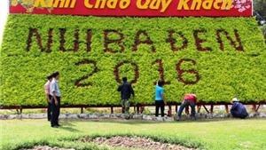 Khu du lịch núi Bà Đen Tây Ninh trang hoàng chuẩn bị mở hội Xuân