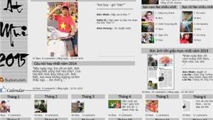 Người trẻ 'đón Tết' trên Facebook