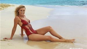 CHÙM ẢNH: Caroline Wozniacki siêu gợi cảm với nghệ thuật body-painting