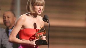 Taylor Swift không xứng đáng đoạt Grammy, nhưng không có gì lạ