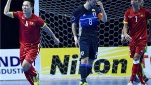 Hạ Nhật Bản ở loạt sút luân lưu, futsal Việt Nam giành vé dự World Cup