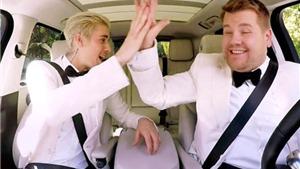 VIDEO: Justin Bieber nhí nhảnh hát karaoke 'Uptown Funk' hậu Grammy