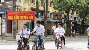 Bộ GD&ĐT ra văn bản đề nghị cấm học sinh, sinh viên đi xe máy điện chưa đăng ký