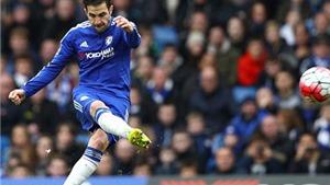 Fabregas lập cú đúp, Chelsea HÚ VÍA hòa West Ham 2-2. Mahrez giúp Leicester hạ Palace 1-0