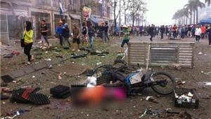 Thu nhiều vật liệu chế tạo bom tại hiện trường vụ nổ ở Văn Phú, Hà Đông