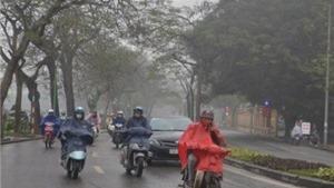 Không khí lạnh tràn về Hà Nội trong chiều và đêm nay
