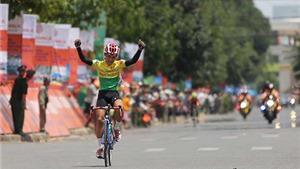 Chặng 9 giải xe đạp HTV 2016: Nguyễn Dương Hồ Vũ lần đầu thắng chặng