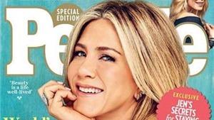 'Gái già' Jennifer Aniston kêu 'Ôi chúa ơi' khi được bầu là Người phụ nữ đẹp nhất thế giới