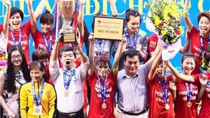 Phong Phú Hà Nam vô địch giải nữ U19 quốc gia