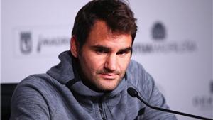 Federer rút lui khỏi Madrid Open vì chấn thương