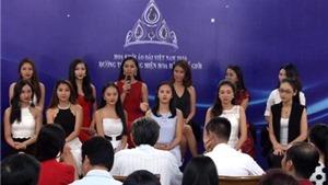 Hoa khôi Áo dài: Bị Lê Hoàng 'hỏi khó', người đẹp bật khóc