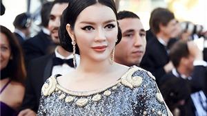 Lý Nhã Kỳ thướt tha váy kim sa trên thảm đỏ Cannes