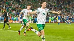Italy 0-1 CH Ireland: Roy Keane bật khóc khi Ireland vào vòng 1/8 EURO 2016