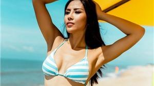 Á hậu Nguyễn Thị Loan: 'Tôi có lợi thế nếu được chọn thi Hoa hậu Hoàn vũ'