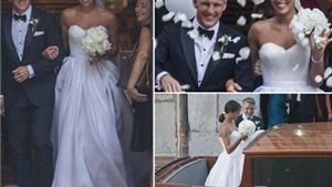 Ivanovic gợi cảm trong đám cưới đẹp như cổ tích với Schweinsteiger