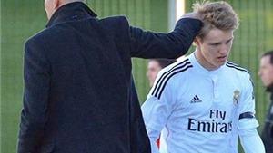 Zidane mâu thuẫn với chủ tịch Real vì Odegaard
