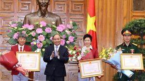 Thủ tướng Nguyễn Xuân Phúc chúc mừng Đoàn Thể thao Việt Nam tham dự Olympic Rio 2016