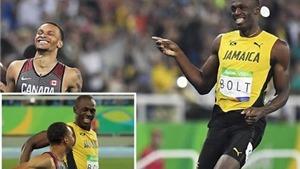 Những khoảnh khắc đặc biệt của Usain Bolt ở Olympic 2016