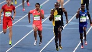 Những bước chạy cuối cùng của huyền thoại Usain Bolt ở Olympic