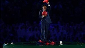Thủ tướng Nhật Bản Shinzo Abe hóa thân thành Super Mario tại Olympic 2016