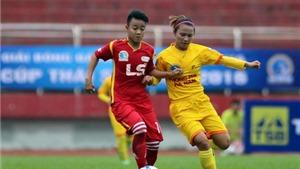 Gió, lốc gây nguy hiểm ở giải bóng đá nữ vô địch quốc gia