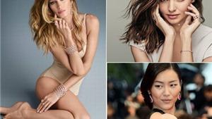 Gisele Bundchen, Miranda Kerr... chân dài kiếm tiền 'khủng' nhất