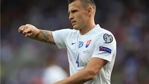 Hậu vệ Slovakia 'tố' chiến thắng của Anh được dàn xếp từ trước