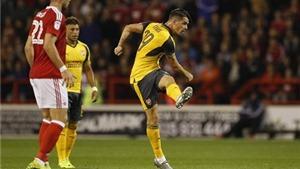 Arsene Wenger ngạc nhiên khi Xhaka liên tục sút xa ghi bàn