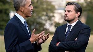 Leonardo DiCaprio vào Nhà Trắng để 'đàm đạo' với Tổng thống Obama