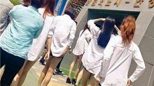 Sốc với những cặp chân lòng khòng như 'que tăm' của sao nữ K-pop