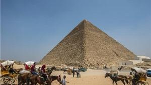 Phát hiện hai khoang bí mật trong đại kim tự tháp ở Ai Cập