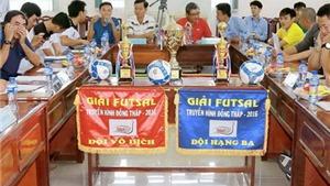 Giải 'cơn khát' futsal miền Tây