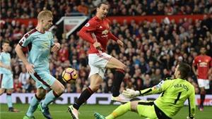 ĐIỂM NHẤN Man United 0-0 Burnley: Ibra dứt điểm tệ. Mourinho vẫn sai lầm về nhân sự